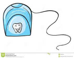 free teeth flossing clipart picture 2