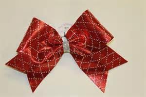 cheerleading hair ribbon picture 11