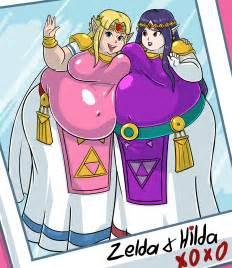 zelda weight gain picture 2