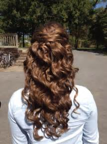 half up half down hair do's for prom picture 13