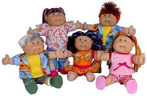 Cabbage patch dolls hair color changing picture 6