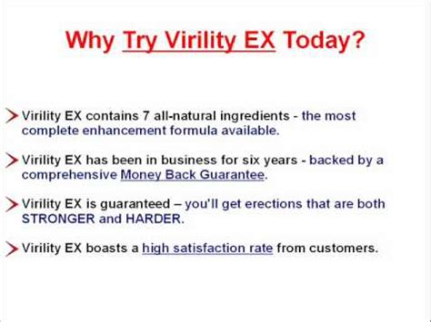 virility ex male enhancement - free samples picture 1