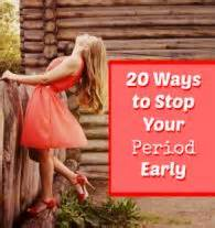 ways to stop your period picture 1