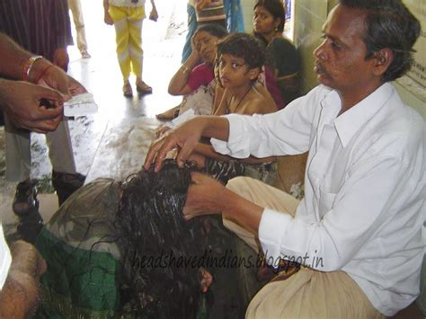 womens headshave at local temples picture 13