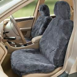 2 tone sheep skin seat covers picture 1