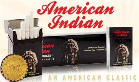 american indian herbal cigarettes ingredients picture 1