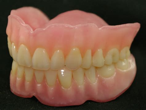 acrylic characterized teeth picture 17