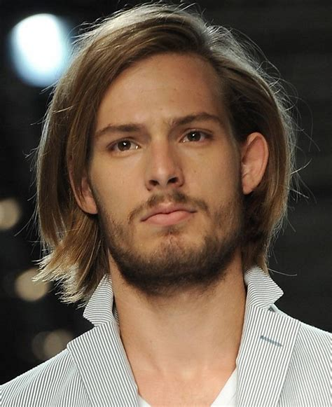picture of men's long hair picture 6