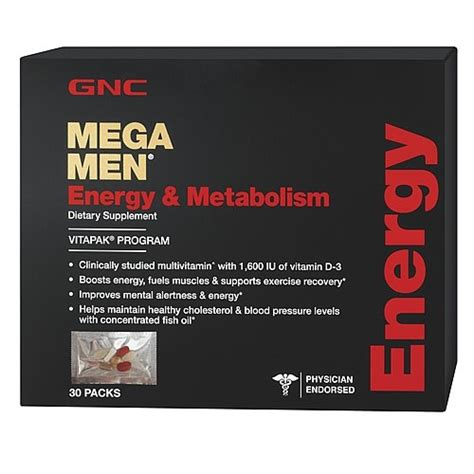 gnc energy and metabolism effects for the body picture 6