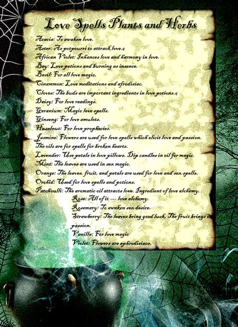 wiccan herbal spells picture 14