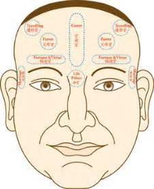 acne forehead digestion picture 14