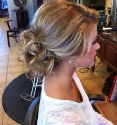 bridesmaid hair styles picture 1