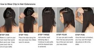 how to clue in hair extensions picture 1