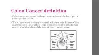 colon cancer definition picture 1