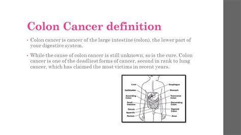 colon cancer definition picture 1