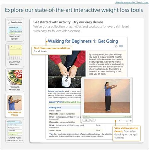 weighchers online weight loss - weight watchers etools picture 4