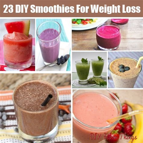 weight loss smoothies homemade picture 3