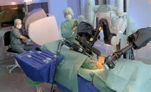 Robotic prostate surgery picture 13