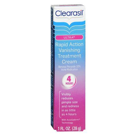 clearasil ultra acne treatment cream picture 1