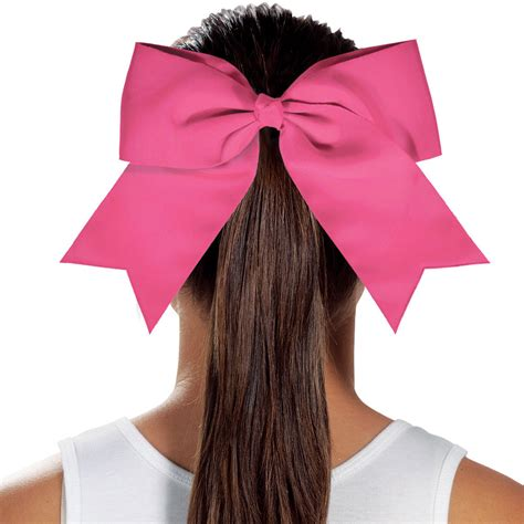 cheerleading hair ribbon picture 5