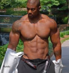 Black muscle bear picture 15