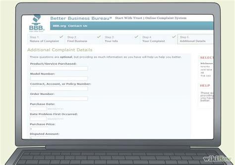 file complaint online business picture 7