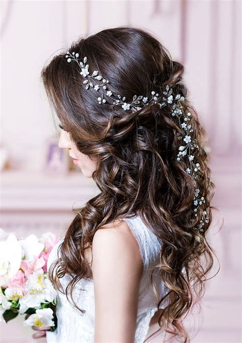 curly hair wedding updos picture 15