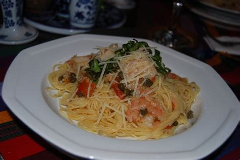 angel hair pasta olives capers picture 9