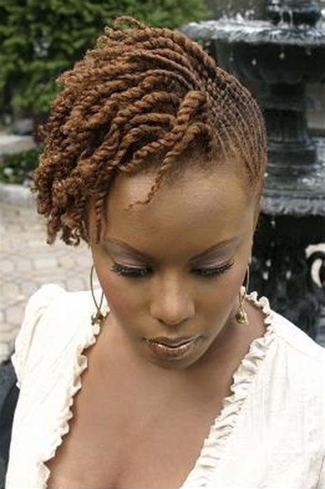 pictures of black hairstyles of flat twists picture 13