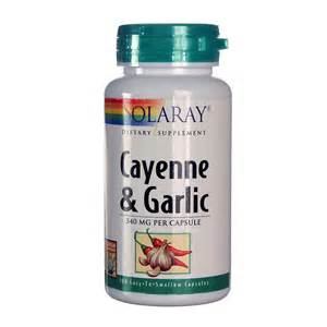 cayenne and garlic supplements of ed picture 1