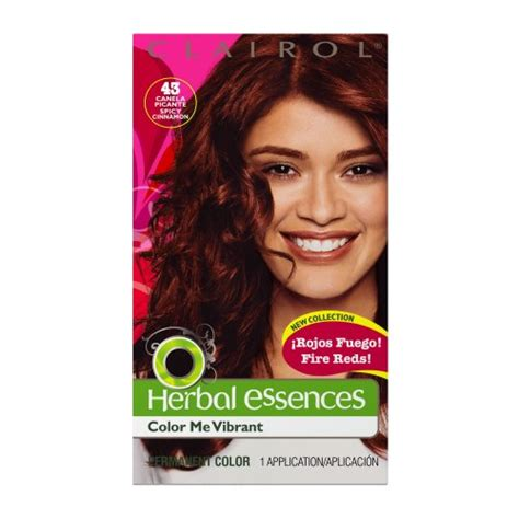 Clairol herbal essences hair color radiant ruby paint picture 4
