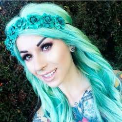 green hair dye picture 11