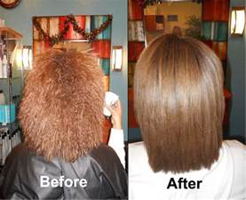 keratin and hair straightening once picture 1