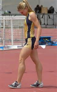 girl with muscular calves. picture 2