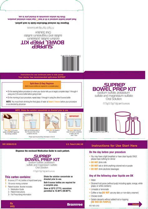 colon prep kit picture 9