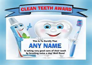 certificates for preschoolers teeth brushing picture 1