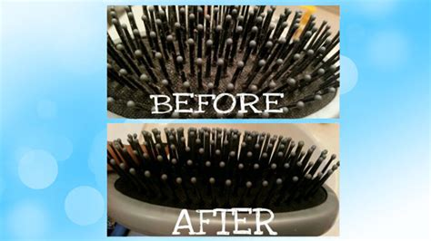 cleaning of hair brushes picture 6