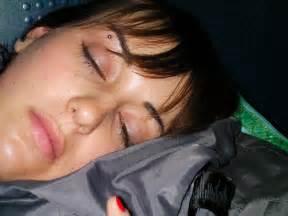 sleep open eyes picture 2