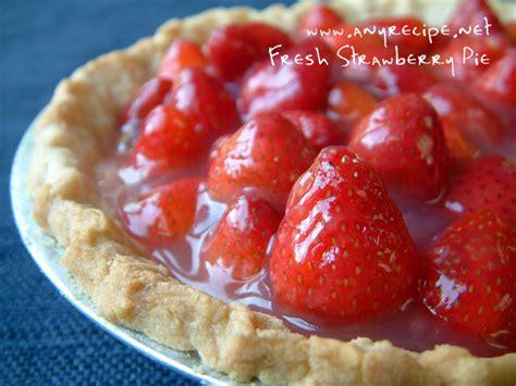fresh strawberry pie - for diabetics picture 7