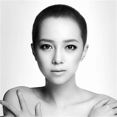 female bald head shave picture 6