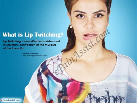 what causes twitches in the lips picture 6