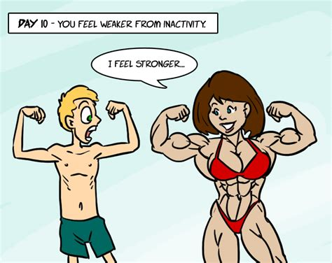 female muscle art picture 14