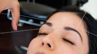 eyebrow threading teeth picture 1