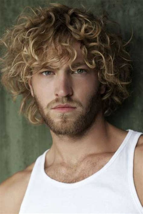 man with blonde curly hair picture 1