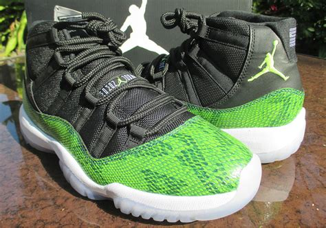 air forces1 mid skin snake picture 5