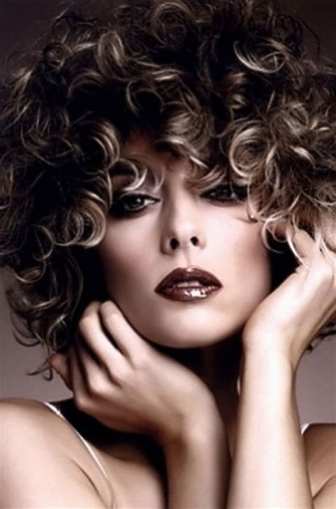 curly hair highlights picture 5