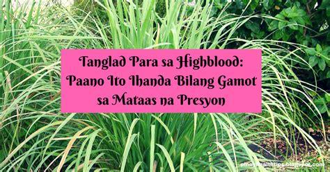 pagkain para sa may high blood picture 6