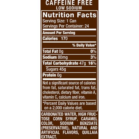 a&w root beer diet ingredients picture 11