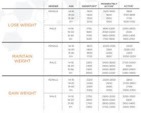 daily calories to gain weight picture 18