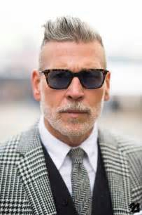 men's short grey hair picture 5